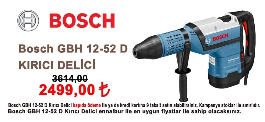 Ennalbur.com - Bosch GBH 12-52 D Kırıcı Delici